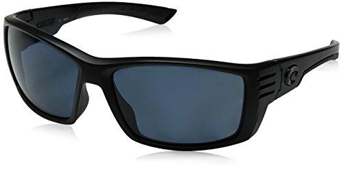 Costa Del Mar Cortez Sunglasses CZ 01 OGP Blackout/Gray 580 Plastic from Costa Del Mar