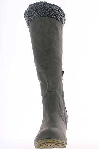 ChaussMoi - Botas de sintético para mujer