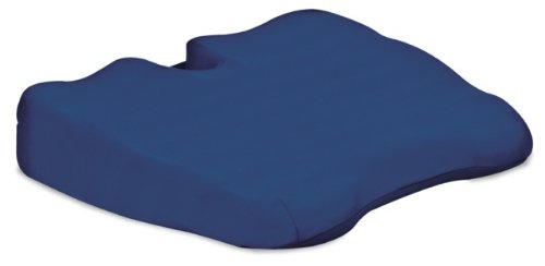 Coccyx Foam (Contour Products Kabooti Coccyx Foam Seat Cushion, Blue)