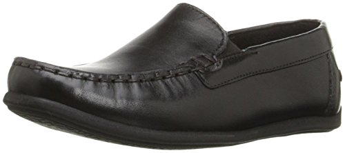 Florsheim Kids Boy's Jasper Venetian, Jr. Shoe, black, 5.5 M US Big Kid