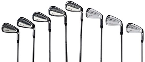 [Orlimar Men's Tour 2 Forged Golf Club Iron Set, Right Hand, Steel, Stiff, 3-PW] (Forged Hybrid Iron Set)