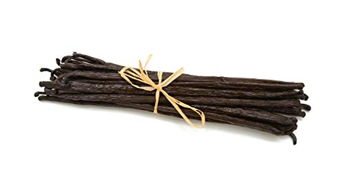 Madagascar Vanilla Beans. Whole Grade A Vanilla Pods for Vanilla Extract and Baking (10 -