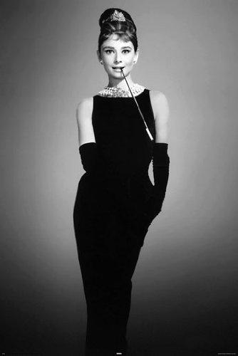 Posterjacks UK Audrey Hepburn Little Black Dress PAPER POSTE