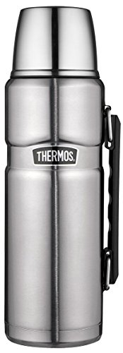 4003.205.120Bouteille isotherme/Thermos King Flasque Thermos en acier inoxydable 1,2l en acier inoxydable mat