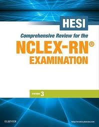 HESI Comprehensive Review for the NCLEX-RN Examination (HESI Evolve Reach Comprehensive Review f/ NCLEX-RN Examination) 3th (third) Edition by
