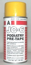 Aeroseptics JC-6 Podiatry Pre-Tape Dressing Wrap Adherent Spray 6-Oz Aerosol