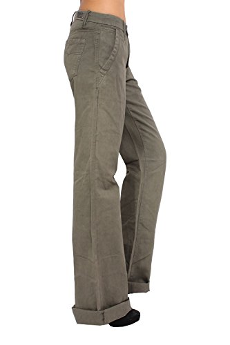 DIESEL - Pantalón para Mujer FLAIRLEGG Verde