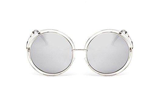 The Metal Round Frame Color Film Sunglasses For - India Rim Frames Half