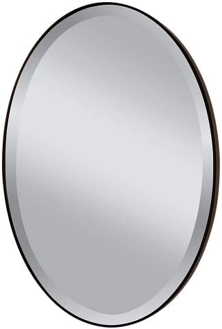 Feiss MR1126ORB Johnson Wall Mount Mirror, Oil Rubbed Bronze