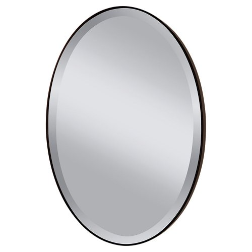 (Feiss MR1126ORB Johnson Wall Mount Mirror, Oil Rubbed Bronze)