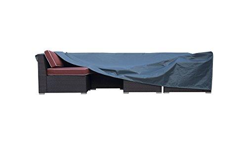 CASUN GARDEN 126'x63'x27' Extra Large Durable Outdoor Patio Furniture Set Cover and Water Resistant , Green by CASUN GARDEN