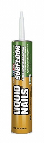 Liquid Nails LN-902 6 Pack 10 oz. Subfloor and Deck Construction Adhesive, - Nails Subfloor Liquid