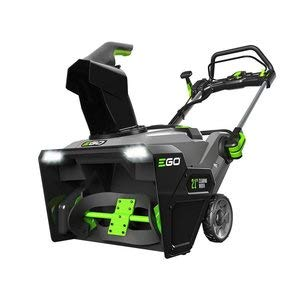 """EGO Power+ 21"""" 56-Volt Lithium-ion Dual Port Snow Blower with (2) 5.0Ah Batteries and Charger"""