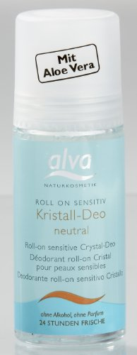 (Alva Organic Crystal Roll On Deo SENSITIVE - 50)