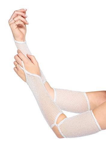 Fingerless Fishnet Warmer - 5