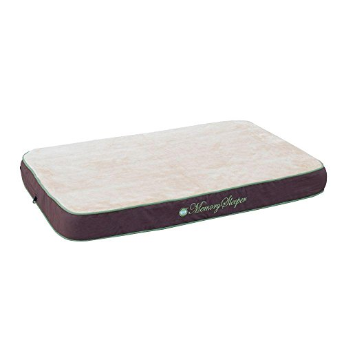 K & H Memory Sleeper Dog Bed - Large/Mocha KH-4161 by Generic