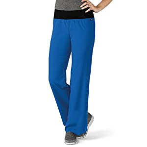 Modern Fit Collection By Jockey Women's Yoga Scrub Pant Large New Navy