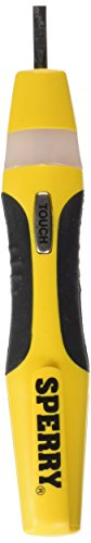 Sperry Instruments ST6401 Voltage-Continuity-Screwdriver Tester, 12-250 V AC/DC, Black & Yellow