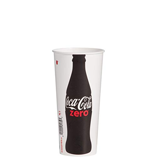 SOLO RP2SCB-K1038 24 oz. Coke DSP Paper Cold Cup (Pack of 1000) ()