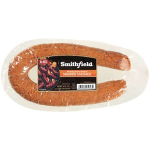 SMITHFIELD SAUSAGE NATURAL HICKORY SMOKED FLAVOR 14 OZ PACK OF 3