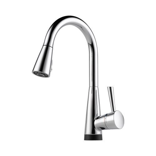 Brizo 64070LF-PC Venuto Kitchen Faucet Single Handle with Pull-Down Spray and Smarttouch Technology, Chrome