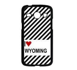 Love Heart Wyoming Samsung Galaxy Core GT-i8260 i8262 Case - Fits Samsung Galaxy Core GT-i8260 i8262