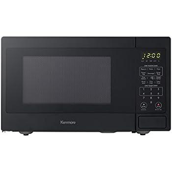 Kenmore Elite Black 70919 Countertop Microwave, 0.9 cu. ft