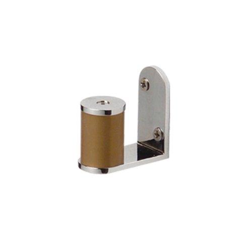 - Whitehaus AMAT05-CHEBONYWO Antonio Miro 1 3/4-Inch Robe/Towel Hanger, Chrome/Ebony Wood