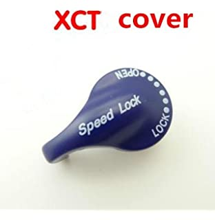 Pete Field Front Fork Speed Lock Cap Cover Bicycle Fork Parts for SR Suntour XCT Bike