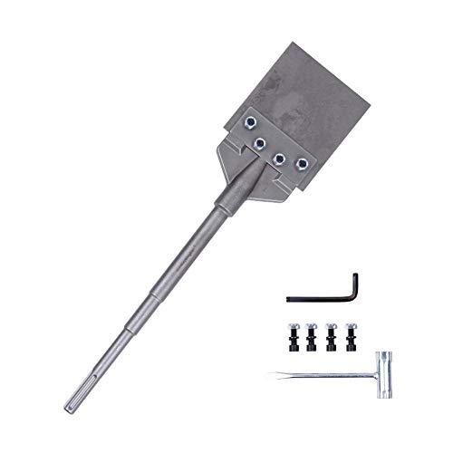 Monkey King Bar Sds Max Floor Scraper – 6″X25″ Tile Tools – 6 Inch Wide Blade -Sharpened Tile- Demolition Hammer chisel