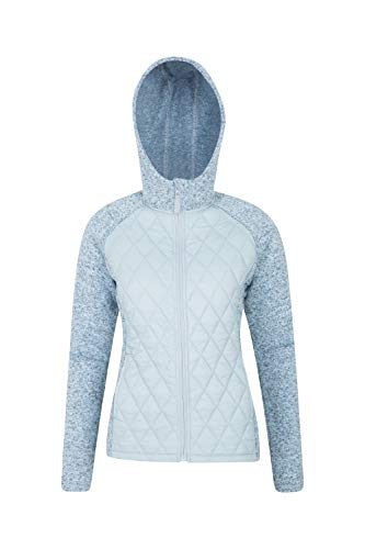 Mountain Warehouse Ascent Womens Padded Jacket - Ladies Winter Coat Blue 8 ()