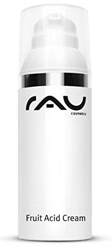 RAU Fruit Acid Cream 50 ml - Fruchtsäure Creme Ideal bei Reifer, Unreiner, Verhornter, pigmentierter & fahler Haut