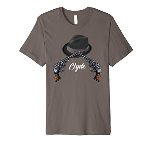 Mr Clyde Gangster Halloween Costume T-shirt Easy -