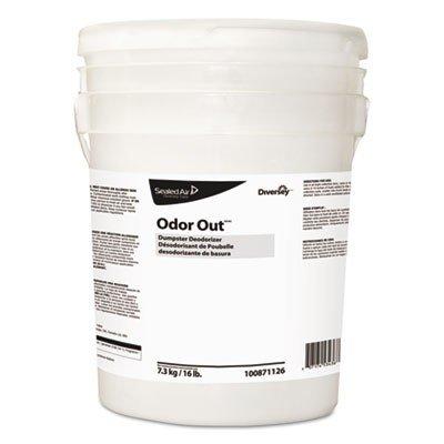 Diversey Odor Out Odor Counteractant Pellets, Fresh Floral, Pink, 16 lb Pail
