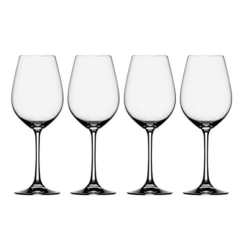 (Spiegelau Beverly Hills White Wine Glass, 15.75 Ounce 465 ML, Set of Four Glasses)