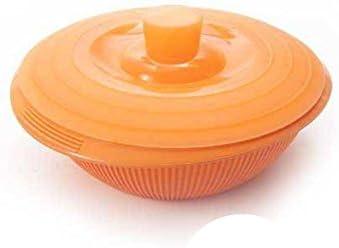 Silikomart Silicone Food Container with Lid, Small, Orange, Orange