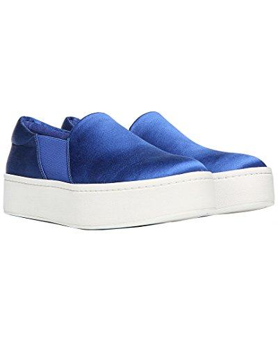Vince Vrouwen Warren Sneaker Blueberry Satijn