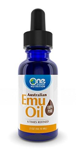 100% Pure Organic Australian Emu Oil (2oz)
