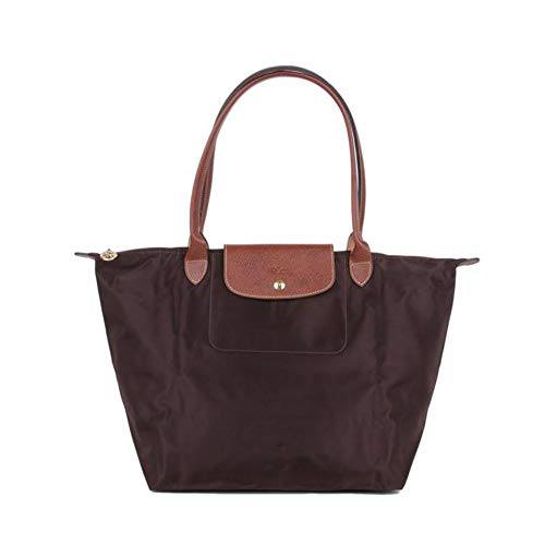Delamode Big Champ Leather Capacity Big 203 Handbags Long Bag Shoulder Women 653 Canvas Folding pxqrIp
