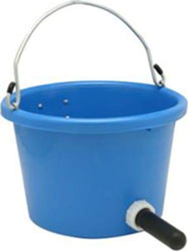 FORTEX INDUSTRIES Calf Feed Pail Complete, Blue