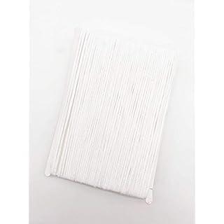 1/8 inch 20 Yard Elastic Cord for Masks, White Elastic Rope Cord Stretch High Elasticity Knit Elastic Band for Sewing Crafts DIY Bedspread Cuff 20 Yard …