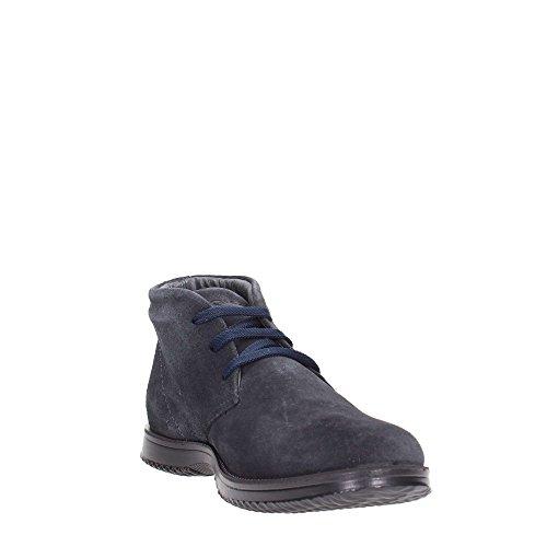 notte amp;CO sportive scarpe camoscio uomo Blu alte IGI polacchini blu 66833 lacci 1tW6Hnng