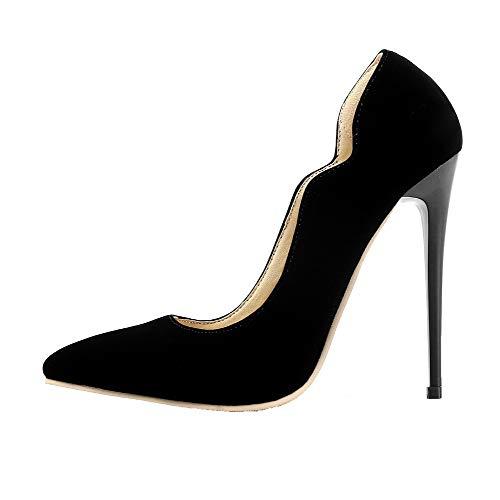 Agoolar Chaussures Stylet Femme L Couleur Unie HSqOwBT