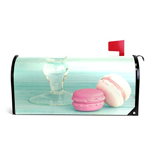 WOOR Colorful Macarons Magnetic Mailbox Cover Standard Size-18