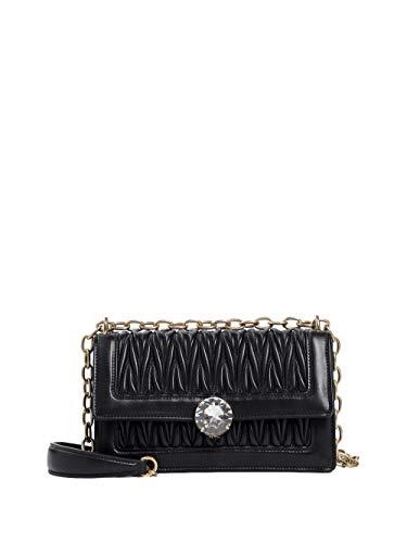 Miu Miu Women's 5Bd130n88f0002 Black Leather Shoulder Bag