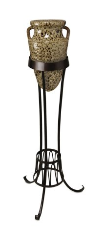 Amazon.com: Greco Ceramic Italian Amphora Vase With Stand ...