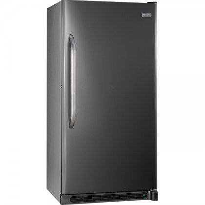 Frigidaire FFFH21F4QT 34″ Upright Freezer with 20.5 Cu. Ft. Capacity Bright Lighting Lock With Pop-Out Key Defrost Water Drain and Adjustable Temperature Control in Classic