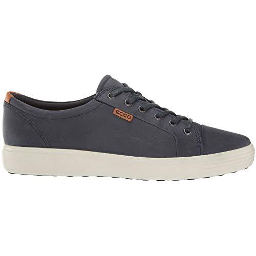 ECCO Men's Soft 7 Sneaker, Marine, 42 M EU (8-8.5 -