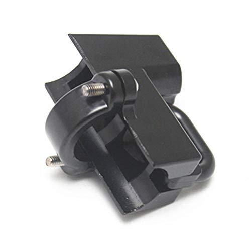Lucchetto universale per casco moto 22 mm Lucchetto antifurto per Harley con tubo tondo 7//8con 2 chiavi nero