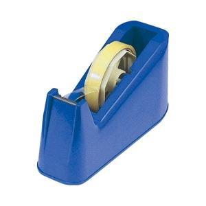 (業務用セット) テープカッター ブルー 【×10セット】 ds-1640744 B01MPX2D2H